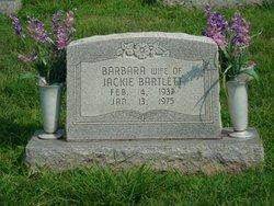 Barbara Jean <I>Hite</I> Bartlett