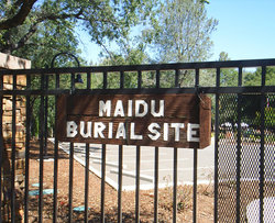 Maidu Indian Burial Grounds