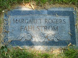 Margaret Louise <I>Rogers</I> Fahlstrom