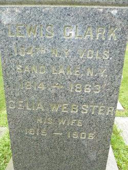 Celia <I>Webster</I> Clark