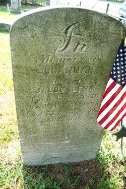 Susanna Hocker Behm 1830 1883 Find A Grave Memorial