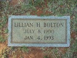 Lillian H. Bolton