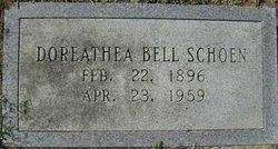 Doreathea <I>Bell</I> Schoen