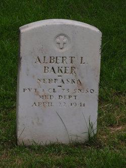 PFC Albert L. Baker