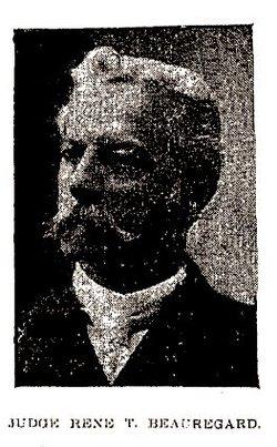 Judge Rene Toutant Beauregard