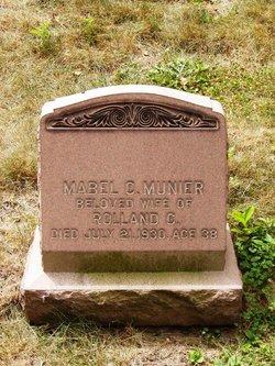 Mabel Christine <I>Stevens</I> Munier
