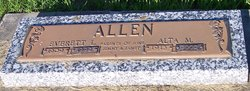 Alta Mae <I>Elliott</I> Allen