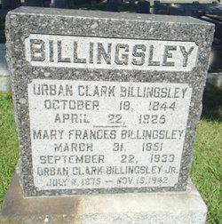 Mary Frances <I>Trafton</I> Billingsley