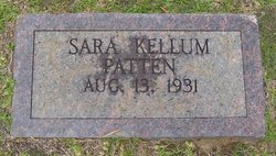 Sara Helen <I>Kellum</I> Patten
