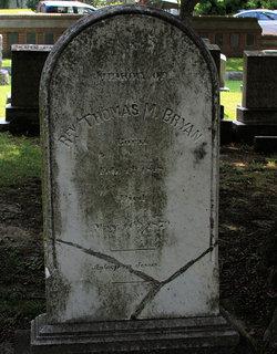 Rev Thomas M. Bryan