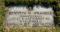 1Lt Kenneth Wayne Sprankle