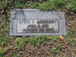 Effie <I>Sykes</I> Andrews