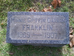 Minnie Louise <I>Griffin</I> Franklin