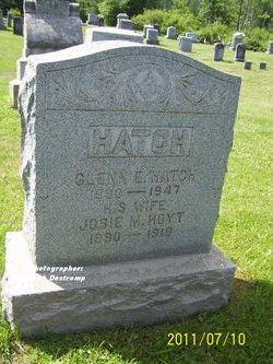 Josie M <I>Hoyt</I> Hatch