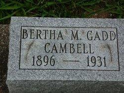 Bertha M. <I>Gadd</I> Campbell