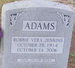 Robbie Vera <I>Adams</I> Jenkins