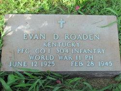 Evan D. Roaden