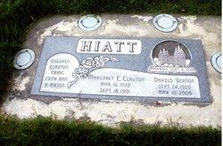 Margaret <I>Clayton</I> Hiatt