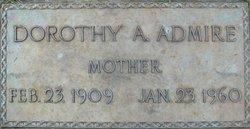 Dorothy Adell <I>Baumgardner</I> Admire
