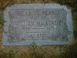 Elizabeth <I>Prange</I> MacKenzie