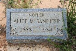 Alice Almira <I>Mitchell</I> Sandifer