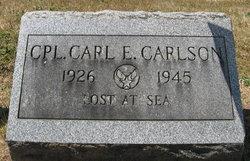Corp Carl Emil Carlson, Jr