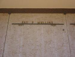 Fay <I>Phinney</I> Mullins