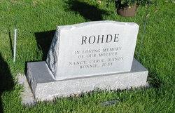 Elsie <I>Henkle</I> Rohde