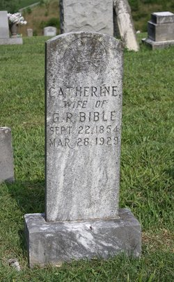 Catherine <I>Rader</I> Bible