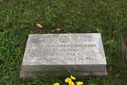 Edward C. Christopherson