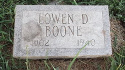Lowen Dallas Boone