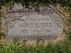 Addie M. <I>Briggs</I> Ford