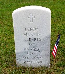 Leroy Marvin Alberts