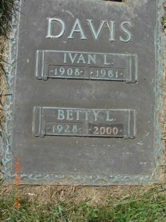 Betty Louise <I>Kiley</I> Davis