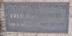 Fred John Ackley