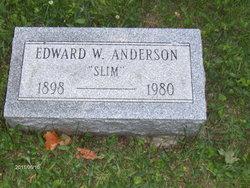 """Edward W """"Slim"""" Anderson"""