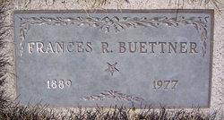 Frances R Buettner