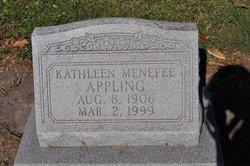 Kathleen <I>Menefee</I> Appling