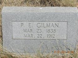 Peter Edward Gilman