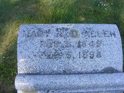 Mary Anne <I>Reid</I> Allen