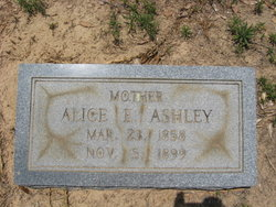 Alice E <I>Beckham</I> Ashley