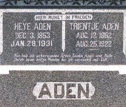 Heye Egberts Aden