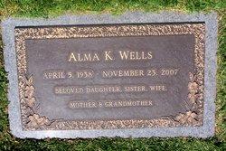 Alma Karen <I>Johansen</I> Wells