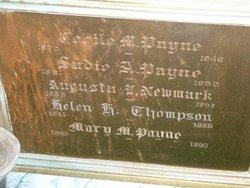 Augusta Lacy <I>Payne</I> Newmark