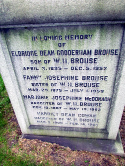 Harriet Dean <I>Brouse</I> Cowan