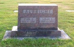 Sarah Elizabeth Albright