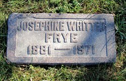 Josephine <I>Whitted</I> Frye