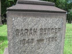 Sarah <I>Teichner</I> Berger