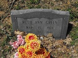 Ruth Ann Green