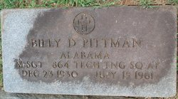 Billy Dean Pittman